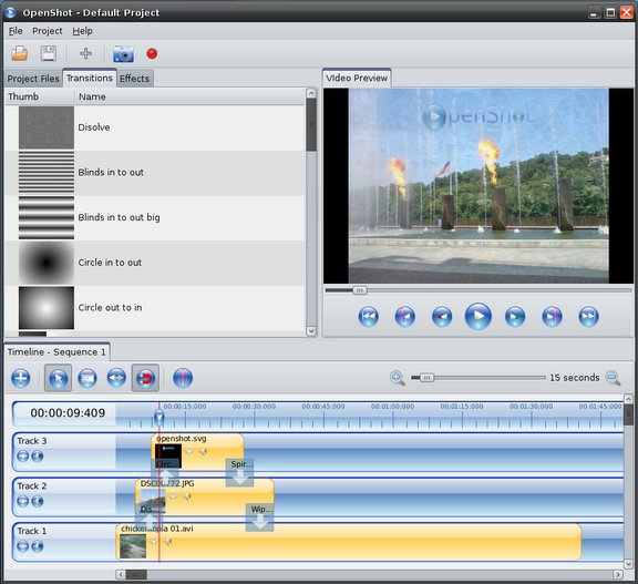 [ DOWN SOFTWARE LINUX ] OpenShot Video Editor Openshot