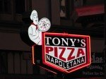 Tony's Pizza Sign