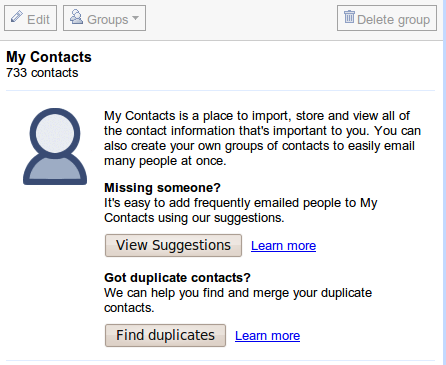 myContacts