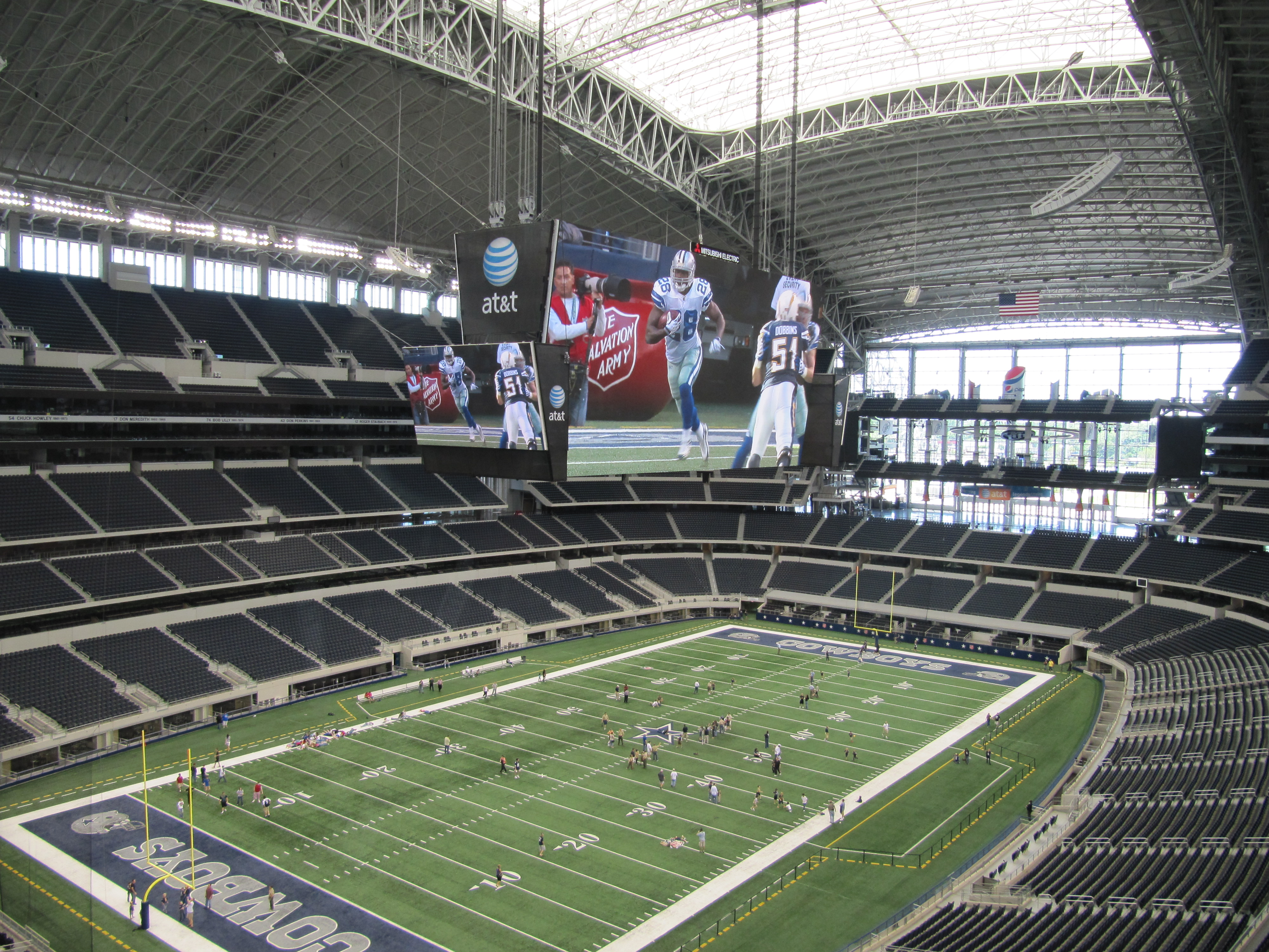 Tours In Dallas Cowboys Stadium