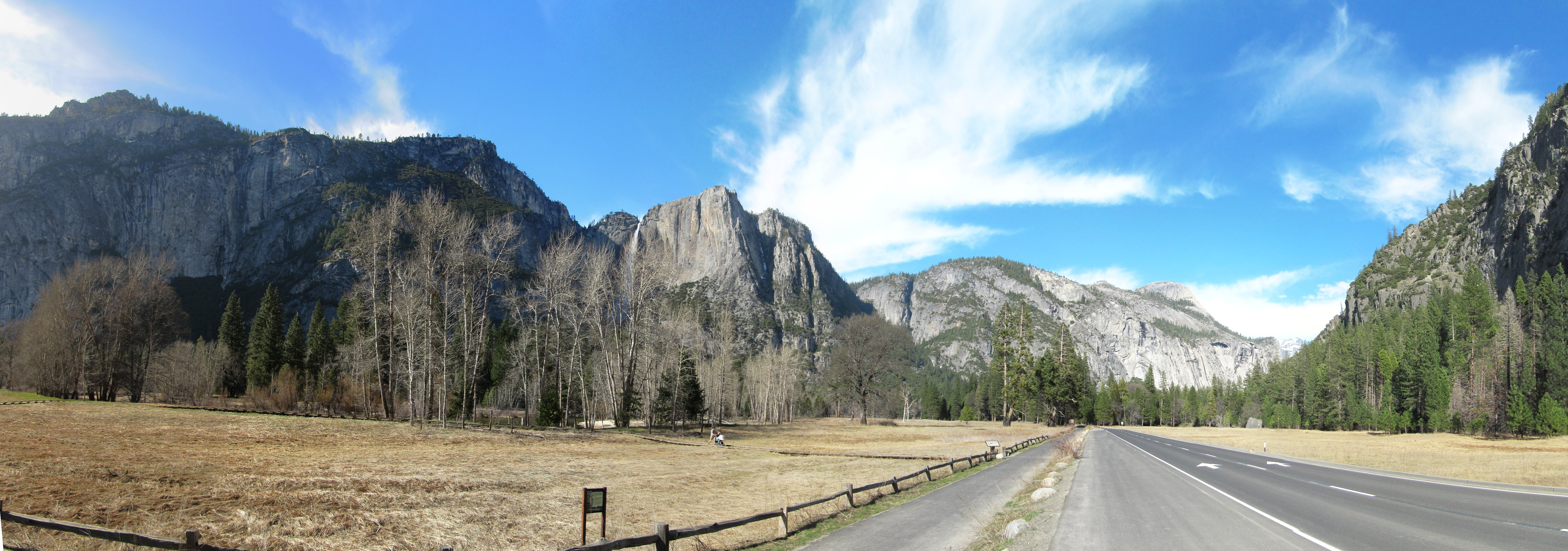 yosemite panoramas