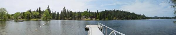 Pine Mountain Lake Panorama